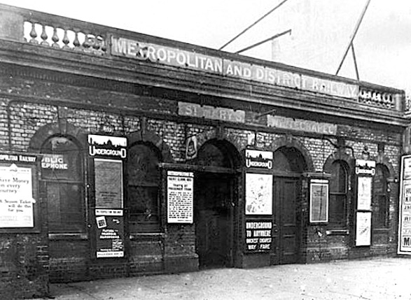 St Mary's ghost station, London