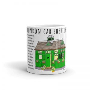 London Cab Shelter Mug