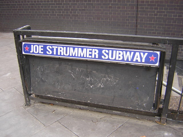 The Joe Strummer Subway (image: Geograph)