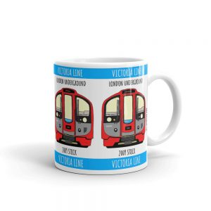 London tube 2009 stock mug