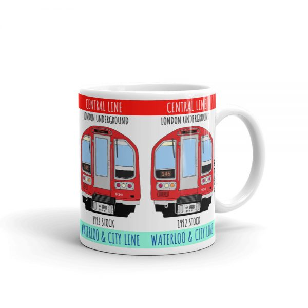 London Tube 1992 Stock mug