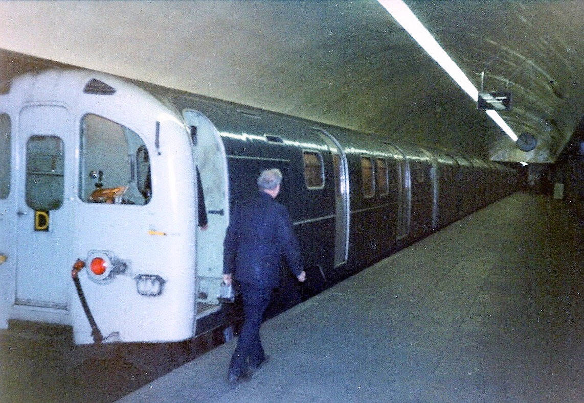 British Rail Class 437 at Bank, 1984