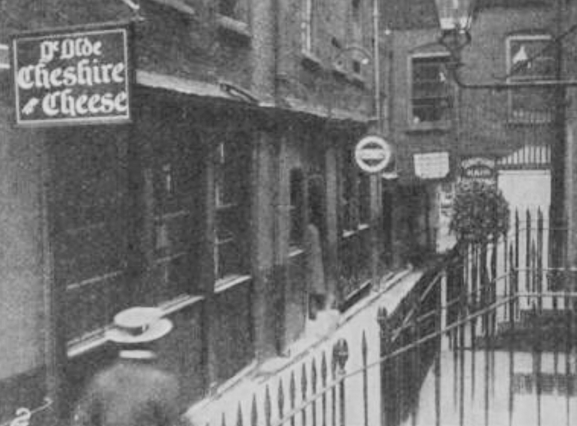 Olde Cheshire Cheese 1909