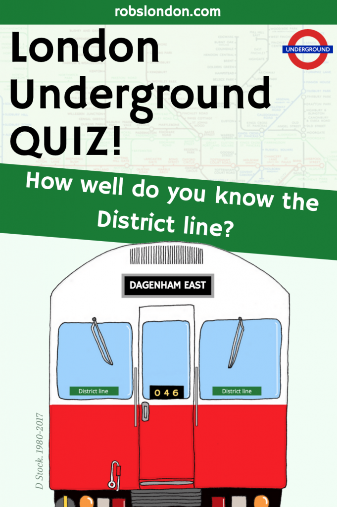 London Underground Quiz: How well do you know the District line?