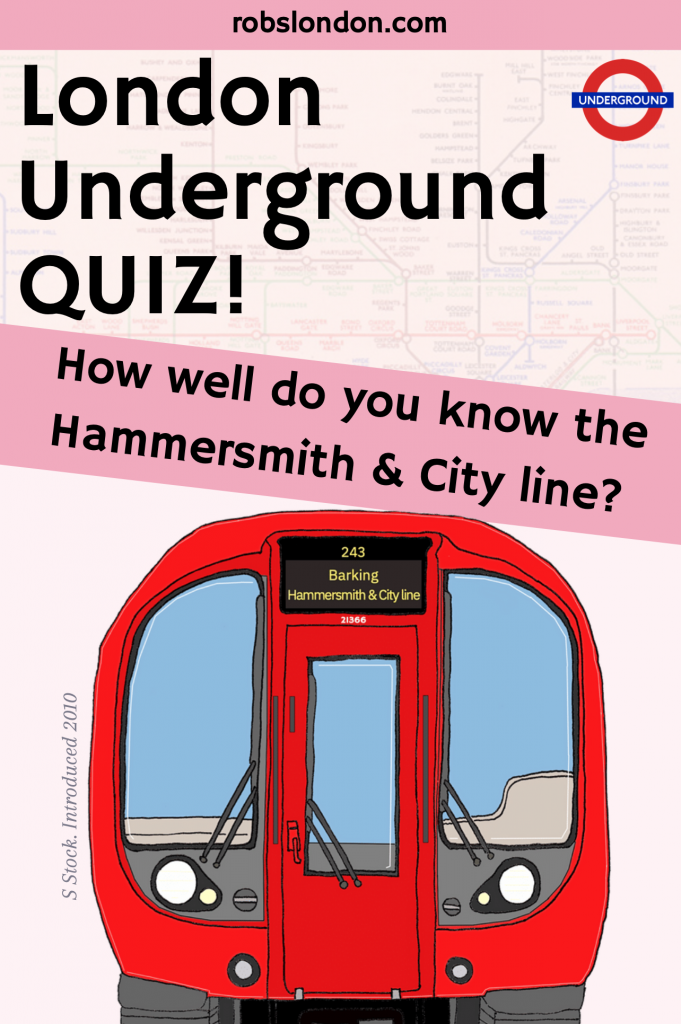 London Underground Quiz: How well do you know the Hammersmith & City line?