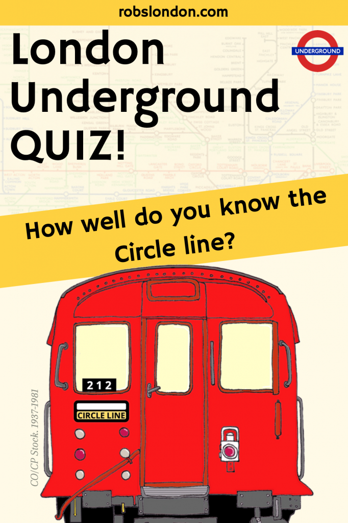 London Underground Quiz: How well do you know the Circle line?