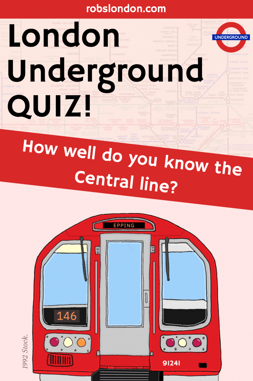 London Underground Quiz: How well do you know the Central line?