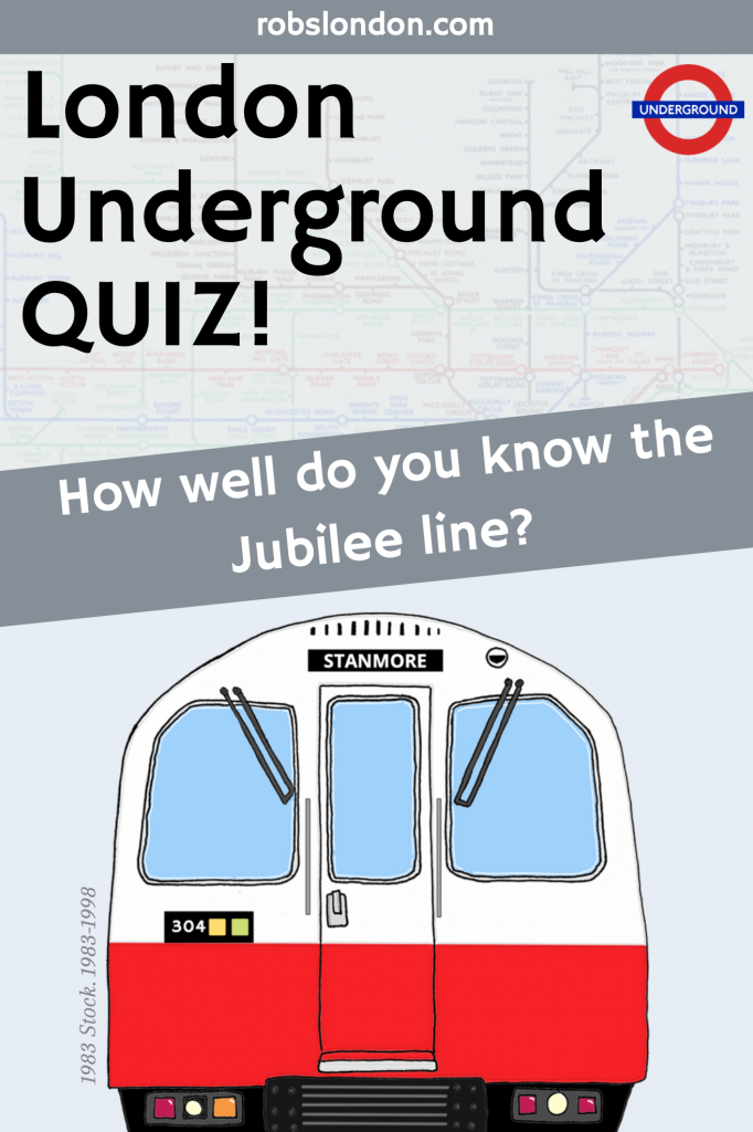 London Underground Quiz: How well do you know the Jubilee line?