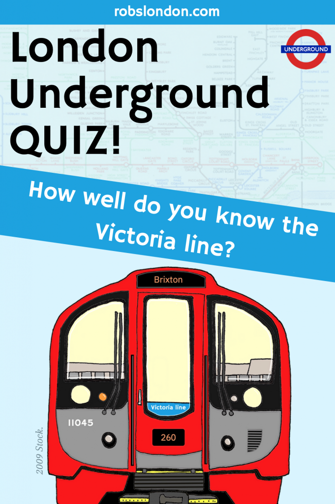 London Underground Quiz: How well do you know the Victoria line?