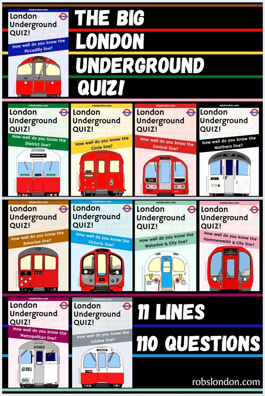 London Underground Quiz
