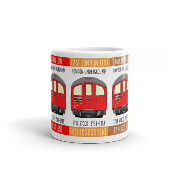 London Tube 1938 Stock mug