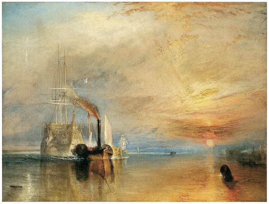 The Fighting Temeraire, JMW Turner, 1838