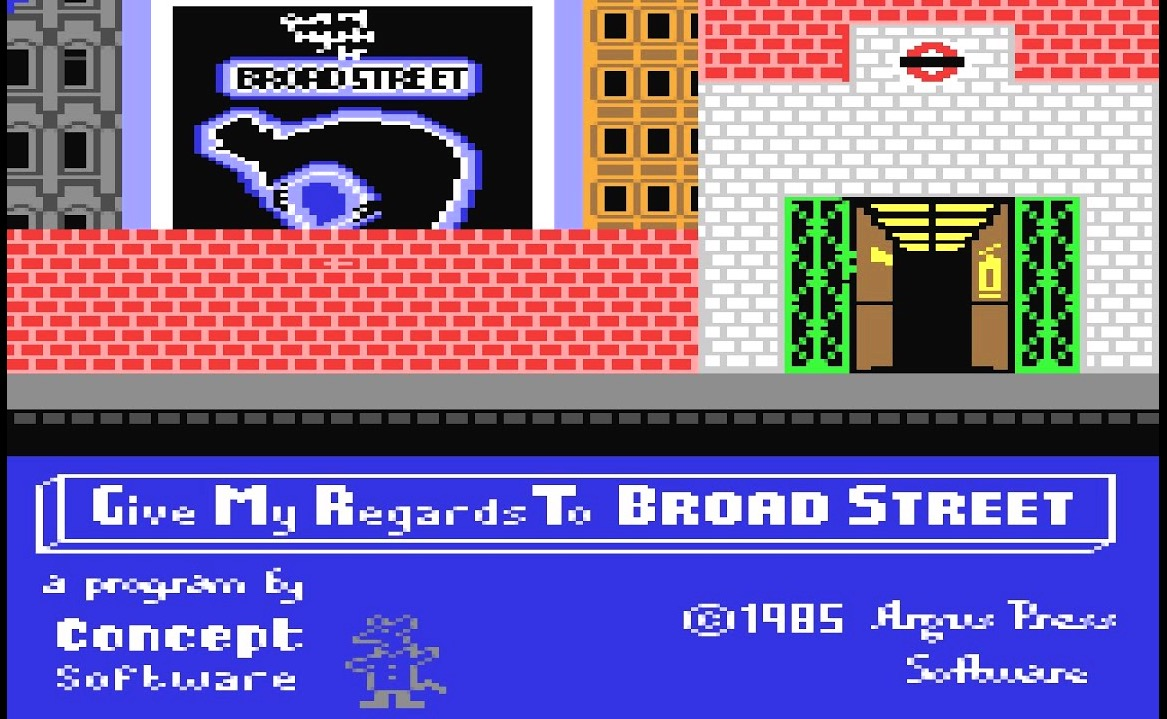 London Retro games: Give My Regards to Broad Street