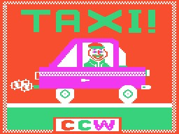 Taxi 1982 Game