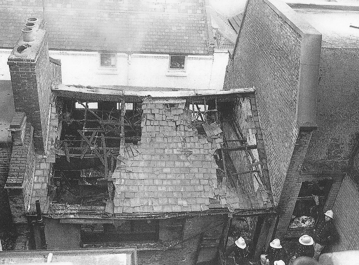 The Spanish Rooms following the Denmark Place Fire