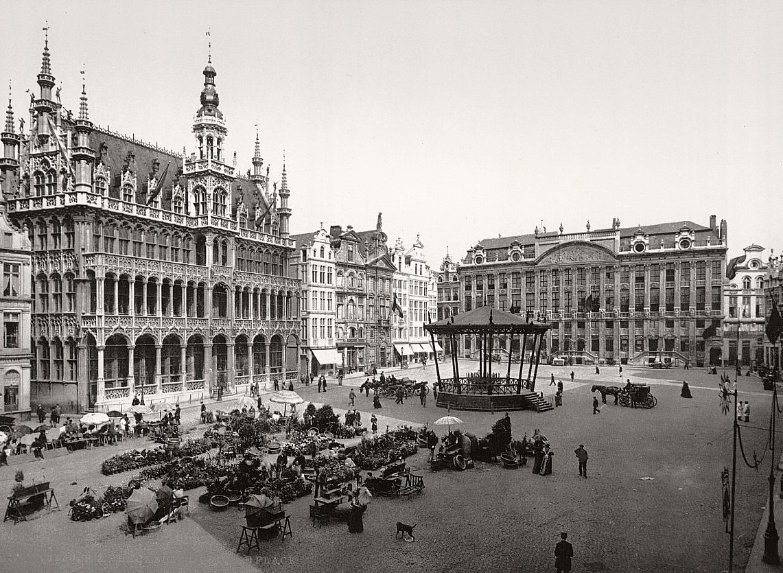 Brussels in the 19th Century