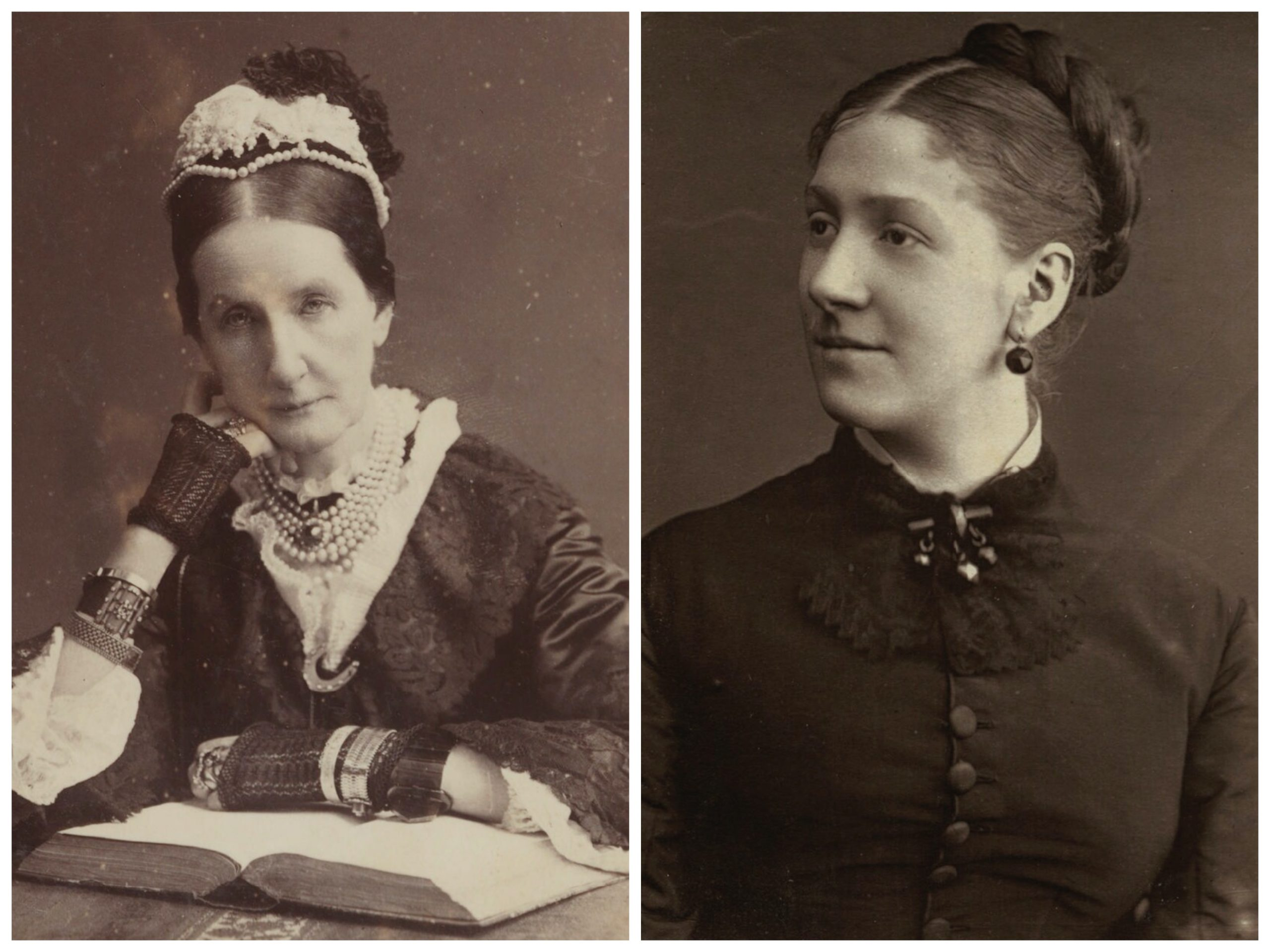 Baroness Burdett Coutts and Madge Kendal