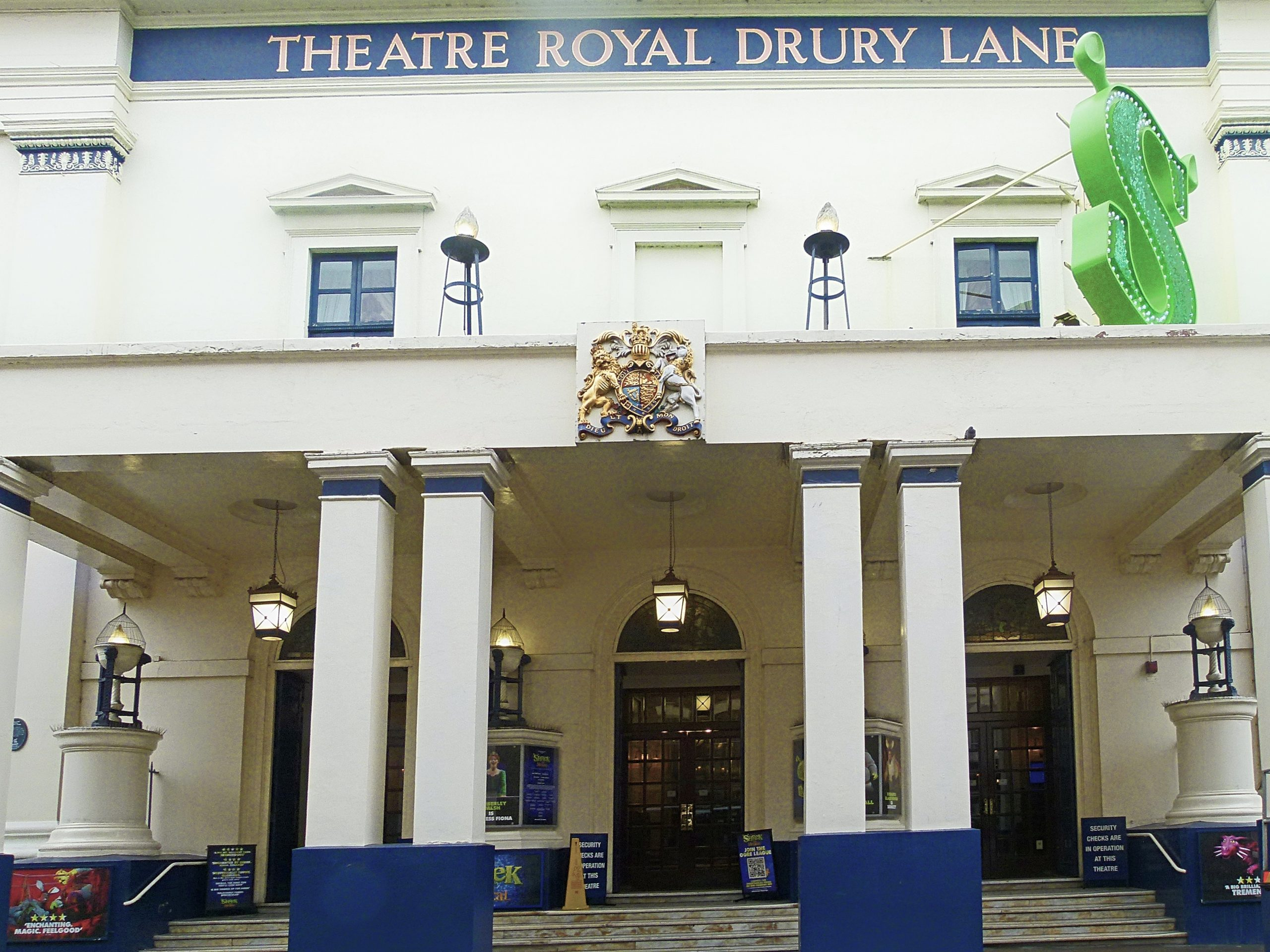 The Theatre Royal, Drury Lane when Joseph Merrick the Elephant Man attended a pantomime in 1887