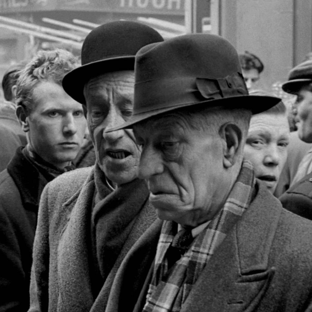 Market Traders, Club Row London 1950s
