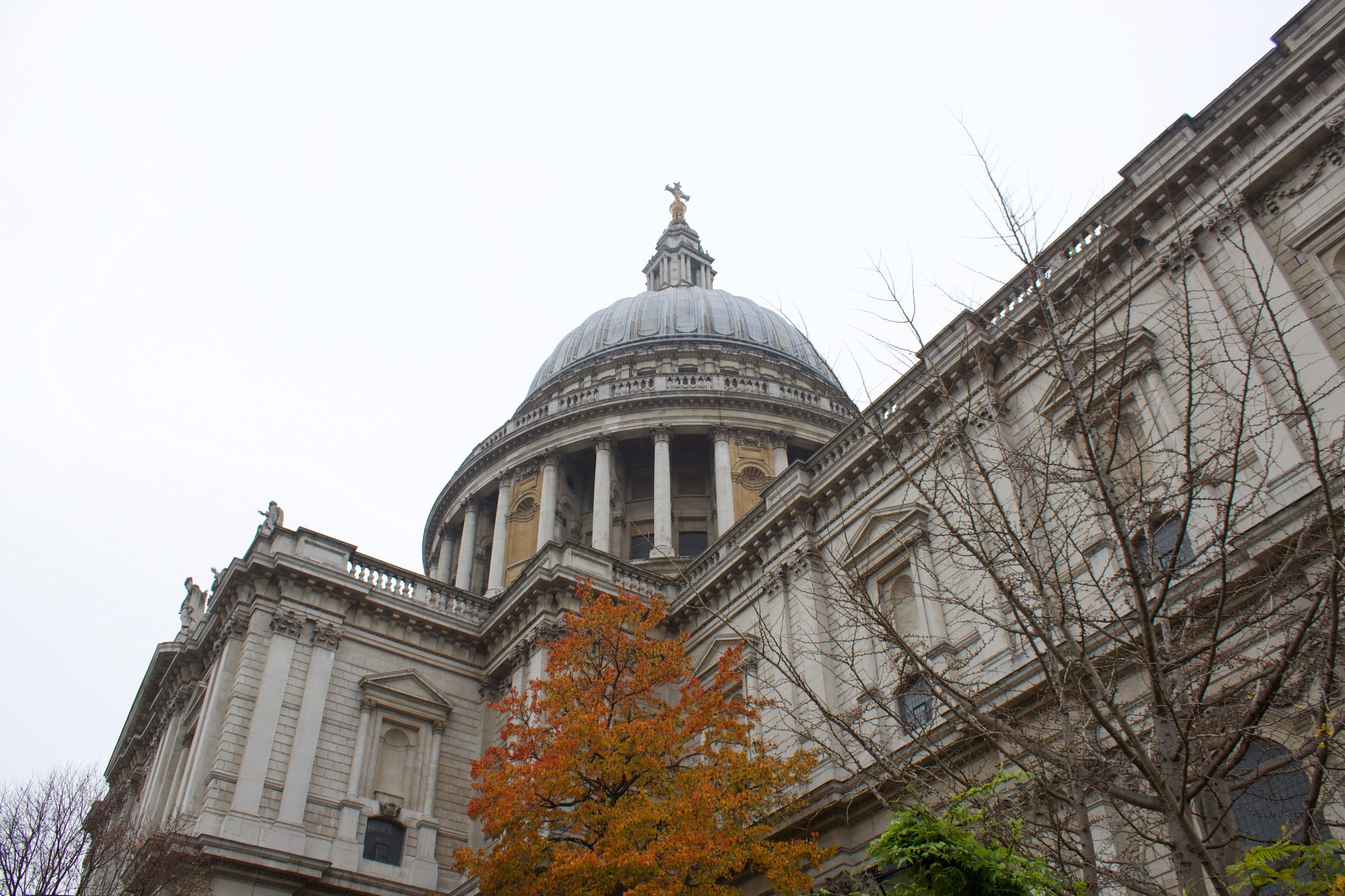 St Paul's Cathedral, December 2020