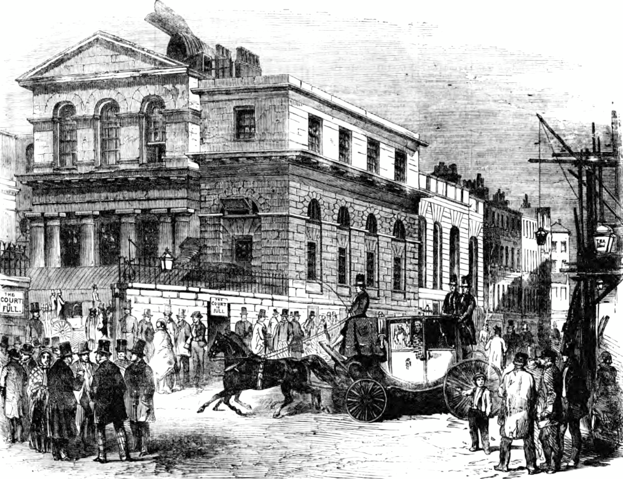 The Old Bailey and Newgate Gaol