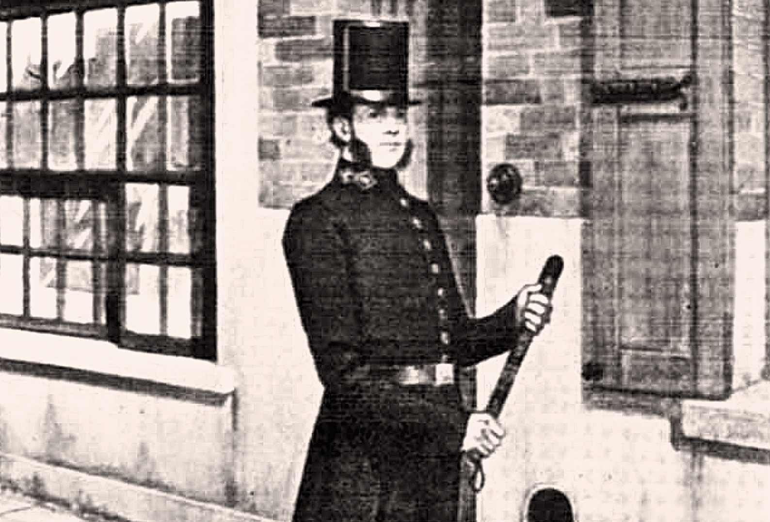 An early 19th century police officer