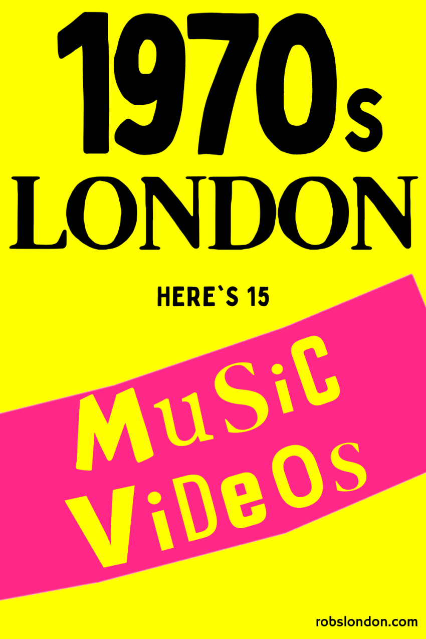 15 Music Videos from 1970s London