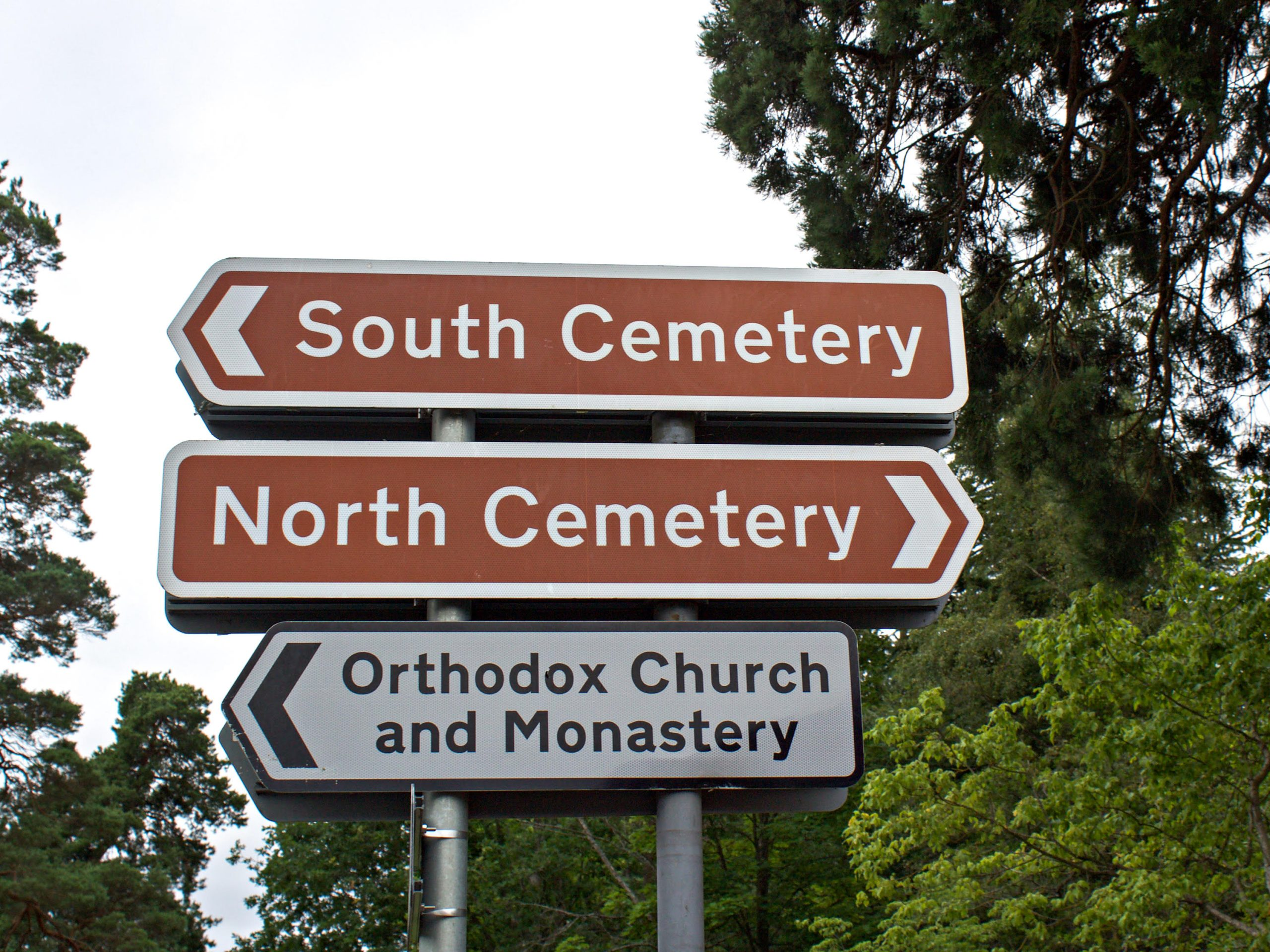 Brookwood Cemetery today