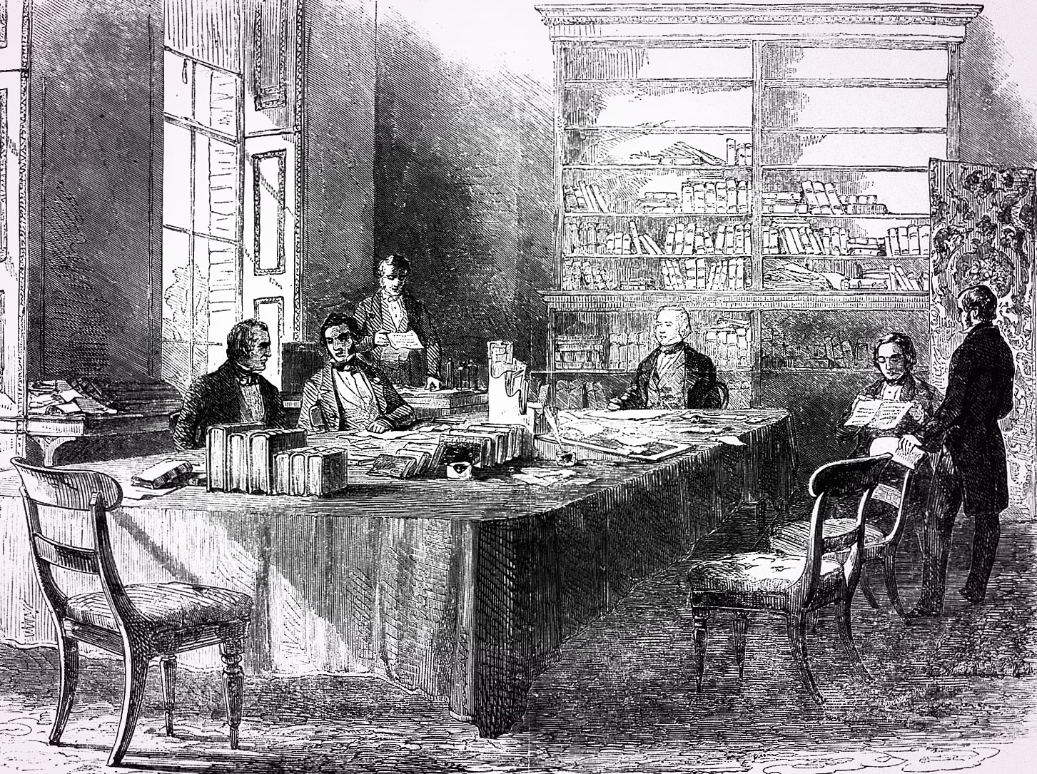 The Board of Health, Whitehall 1848