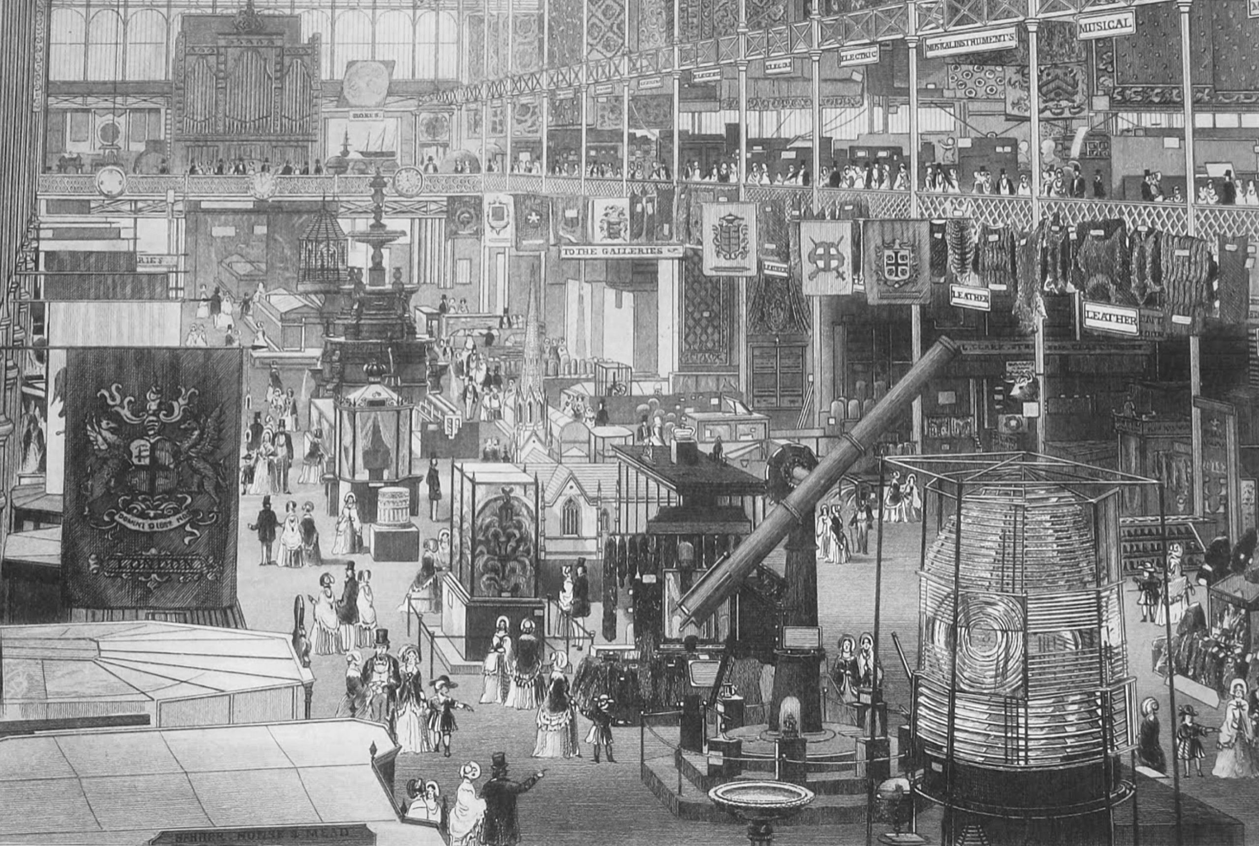 Inside the Great Exhibition