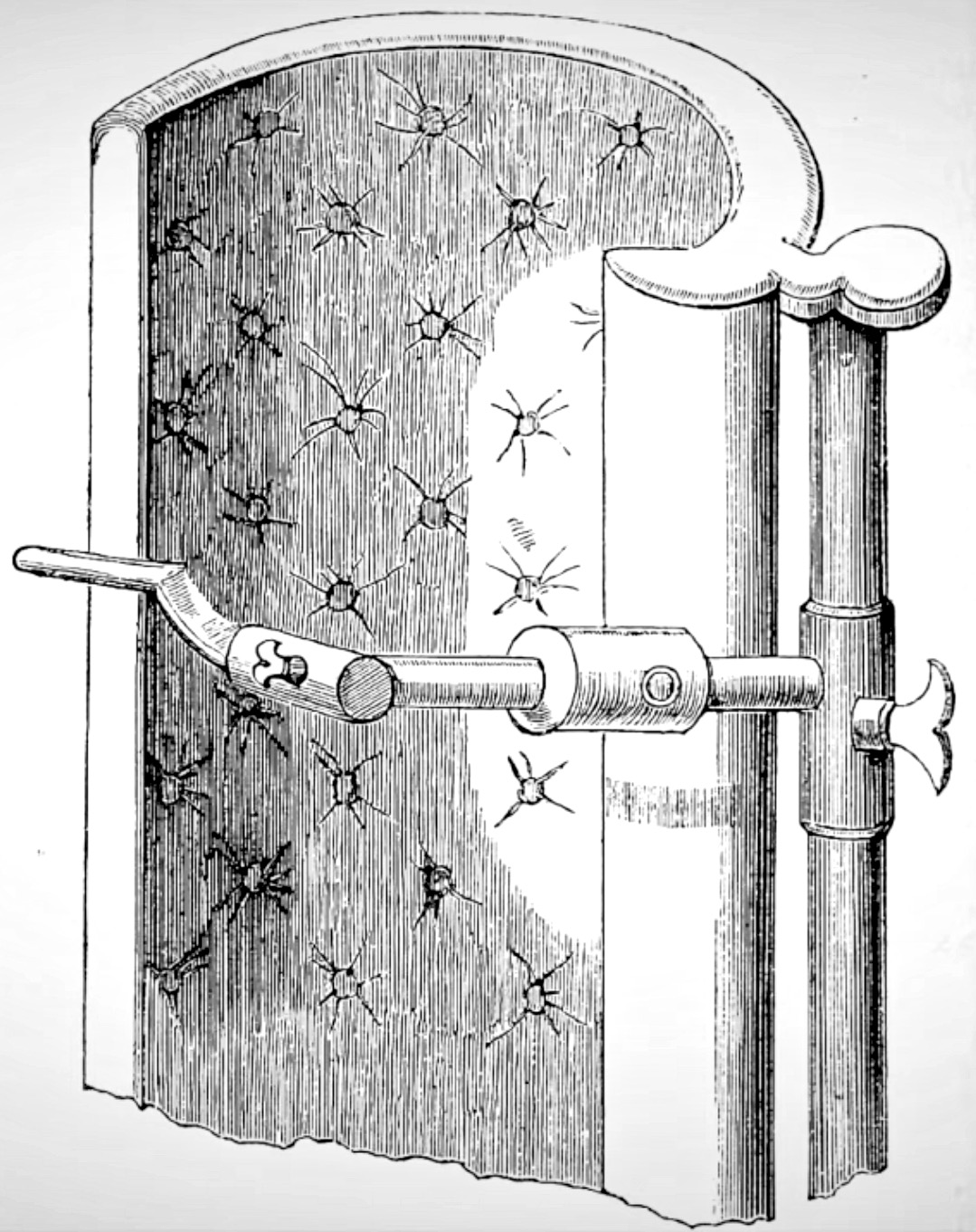 Gilbert's Tooth Extractor shown at the Great Exhibition in 1851